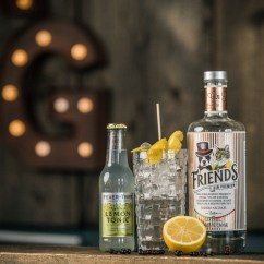 Friends Gin & Fever Tree Lemon Tonic