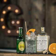 Muscatel & Fentimans Tonic Water